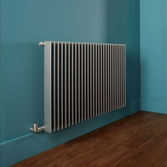 Bisque Finn Vertical Radiator Uk Bathrooms
