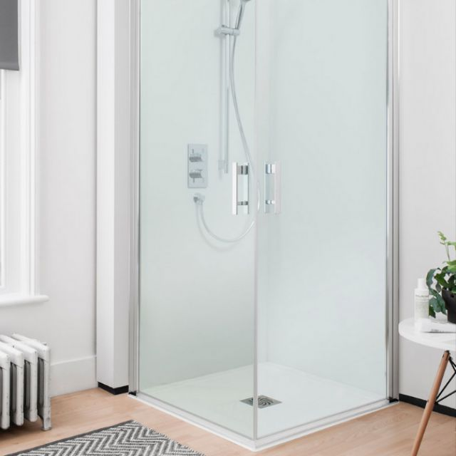 Simpsons Click Easy Access Double Hinged Shower Door