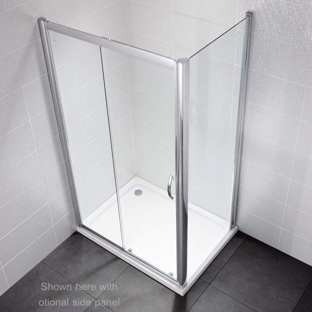 April Identiti2 Sliding Door Shower Enclosure