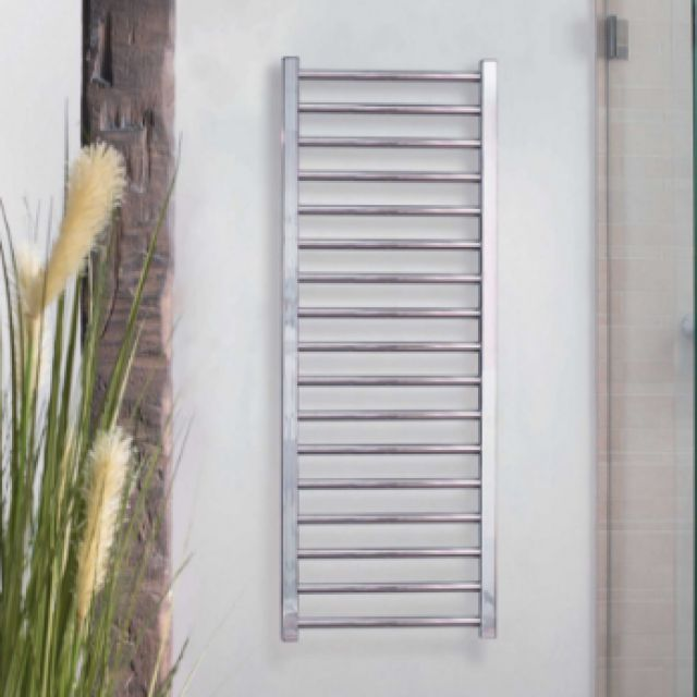 Zehnder Stellar Stainless Steel Towel Radiator