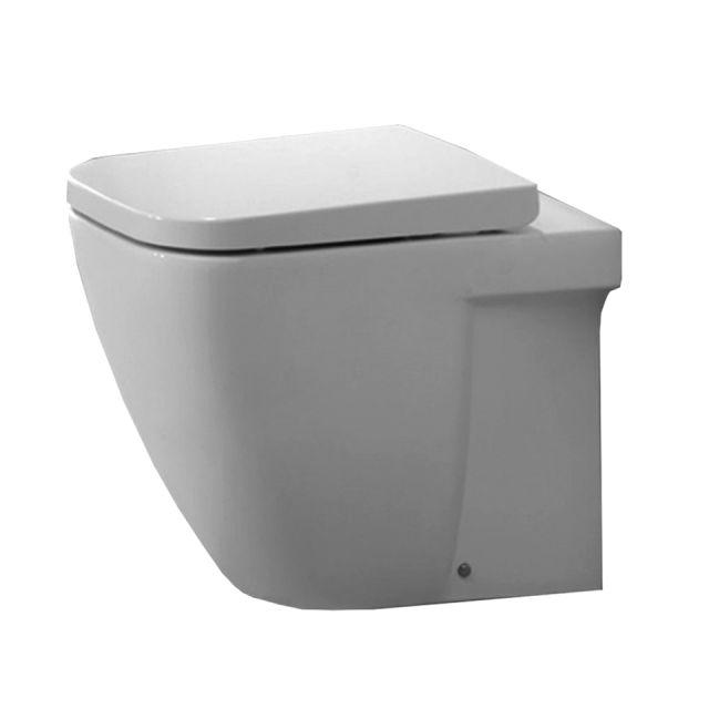Origins Fuchsia Back To Wall Toilet
