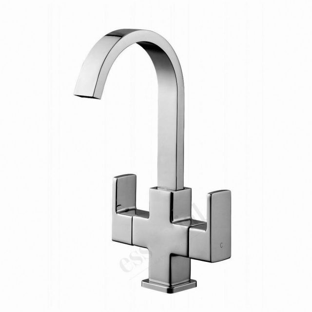 Origins Storm Basin Mixer Tap with Push Waste