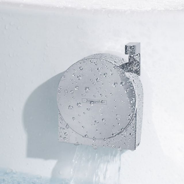 Hansgrohe Exafill S Bath Filler and Overflow with Waste