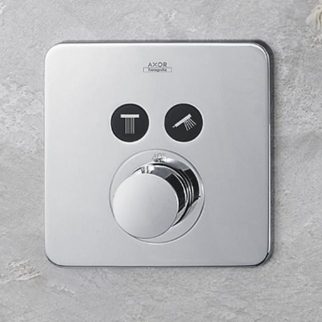 AXOR ShowerSelect Soft Thermostatic Shower Mixer