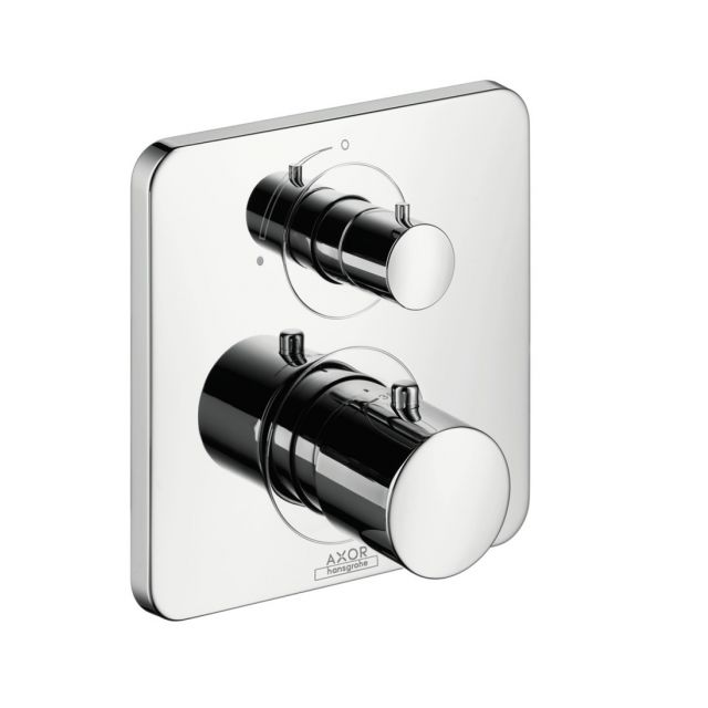 AXOR Citterio M Thermostatic Shower Mixer with Shut-Off Valve