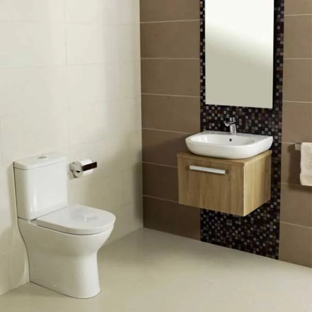 Roca Colina Comfort Height Back to Wall Toilet