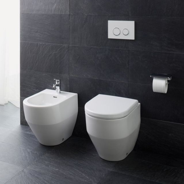 Laufen PRO Floorstanding Bathroom Bidet : UK Bathrooms