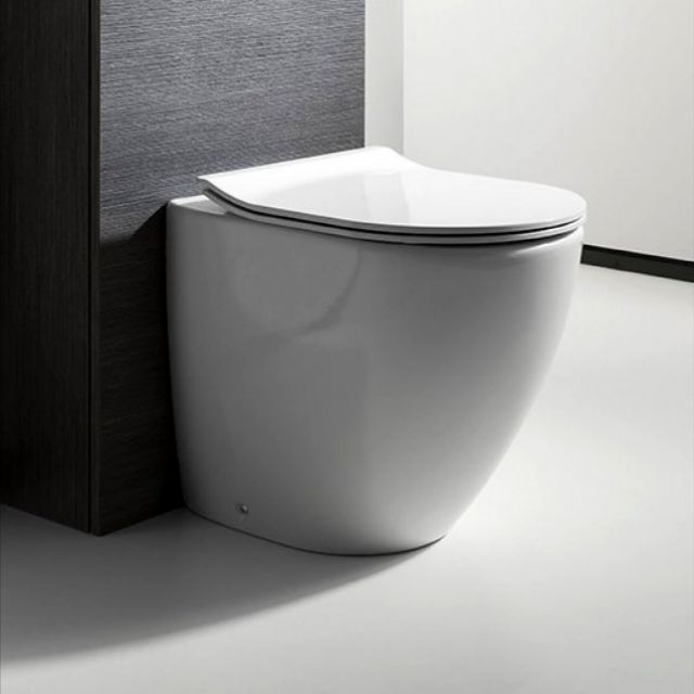 Bauhaus Svelte Back to Wall Toilet