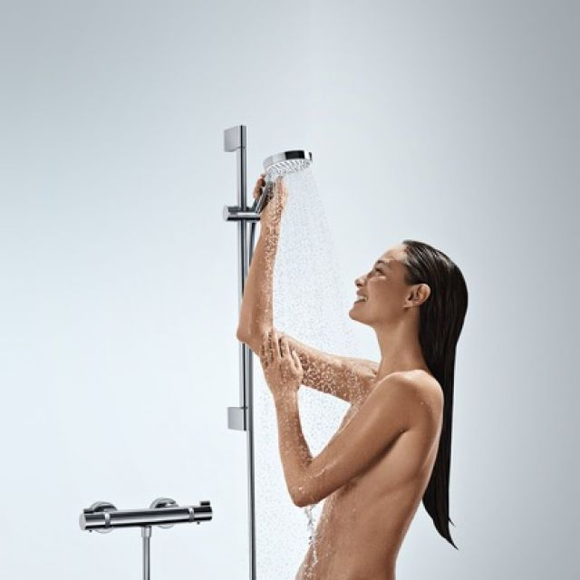 Hansgrohe Ecostat Comfort Combi Set with Croma Select S Vario Hand Shower