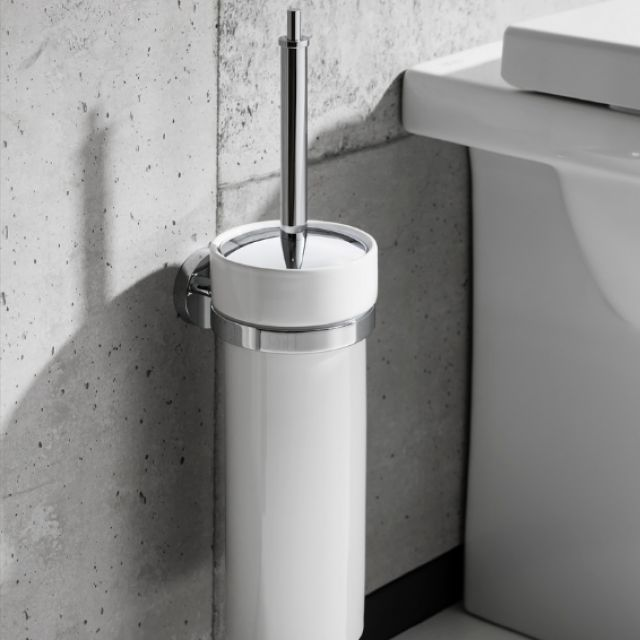 Crosswater Central Toilet Brush Holder
