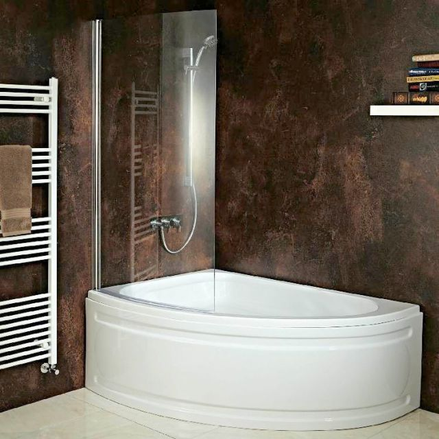 Phoenix Duo Bow Fronted Corner Bath