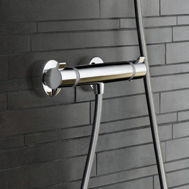 Hansgrohe Ecostat Comfort Exposed Shower Mixer