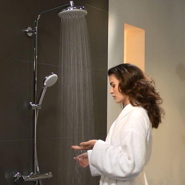 Hansgrohe Crometta 160 Showerpipe Set