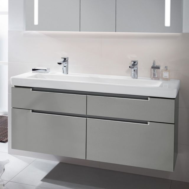 Villeroy And Boch Subway 2 0 Double Washbasin Vanity Unit