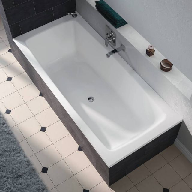 Kaldewei Cayono Duo Double Ended Steel Bath