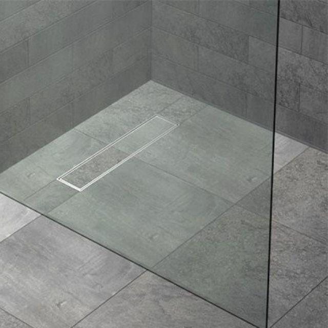 Kudos FLOOR4MA Wetroom Shower Base with Linear Drain