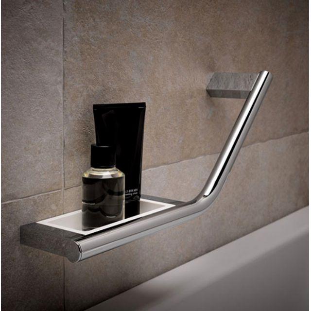 Keuco Plan Grab Bar With Integrated Soap Holder Uk Bathrooms