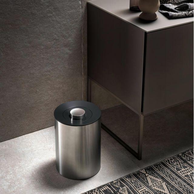 Keuco Plan Floorstanding Waste Bin Uk Bathrooms