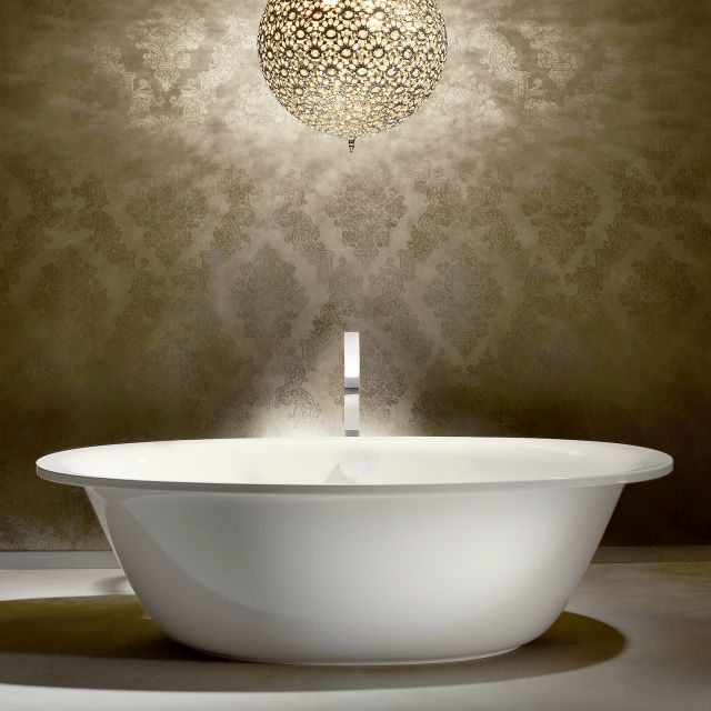 Kaldewei Ellipso Duo Oval Freestanding Steel Bath