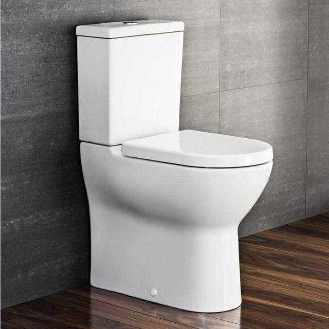 Vitra Essentials S50 Comfort Raised Height Toilet