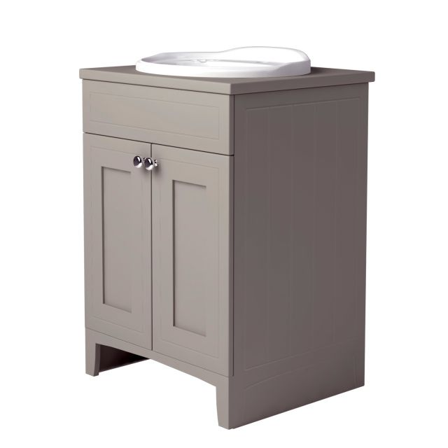 Noble Classic Extra Deep Vanity Unit with Worktop and Inset Basin