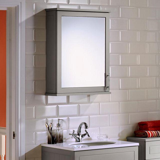 Noble Classic Single Door Mirror Cabinet