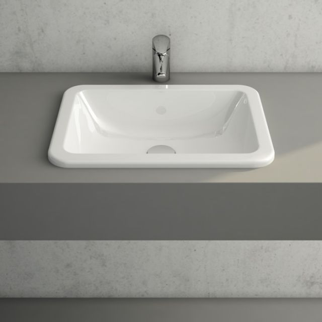 Vitra S20 Countertop Basin Square