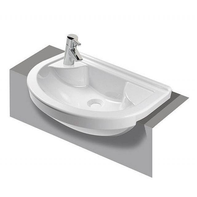Vitra S50 Compact Semi-Recessed Basin
