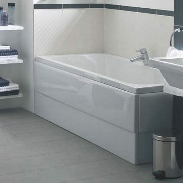 Vitra Optima Double Ended Acrylic Bath