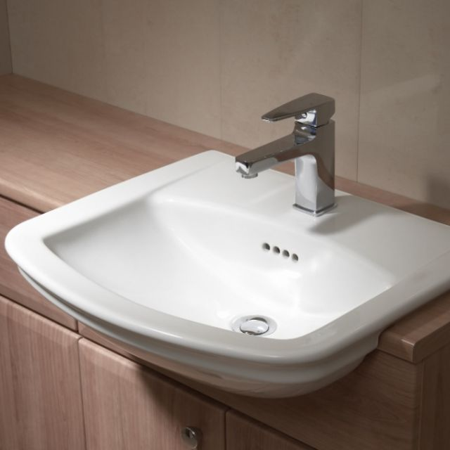 Vitra Serenada Traditional Semi-Recessed Basin