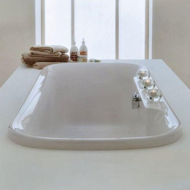 Adamsez Essence Inset Bath, with ledge ESI