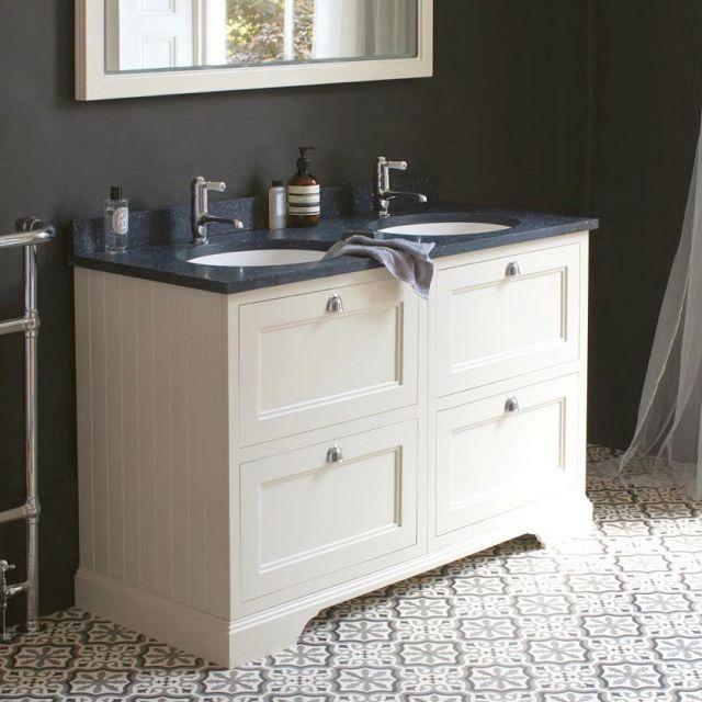 Burlington 130 Double Vanity Unit with Four Drawers