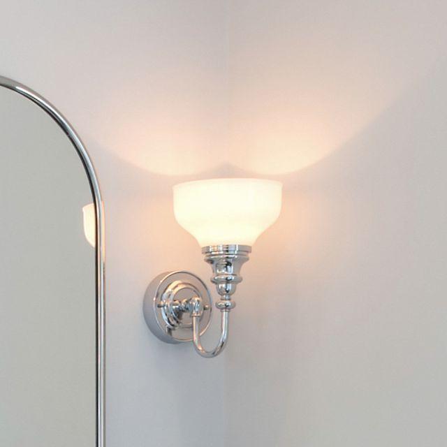 Burlington Frosted Cup Bathroom Light