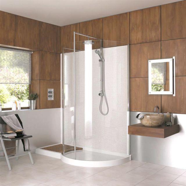 Walk In Showers, Walk In Shower Enclosures & Trays : UK Bathrooms