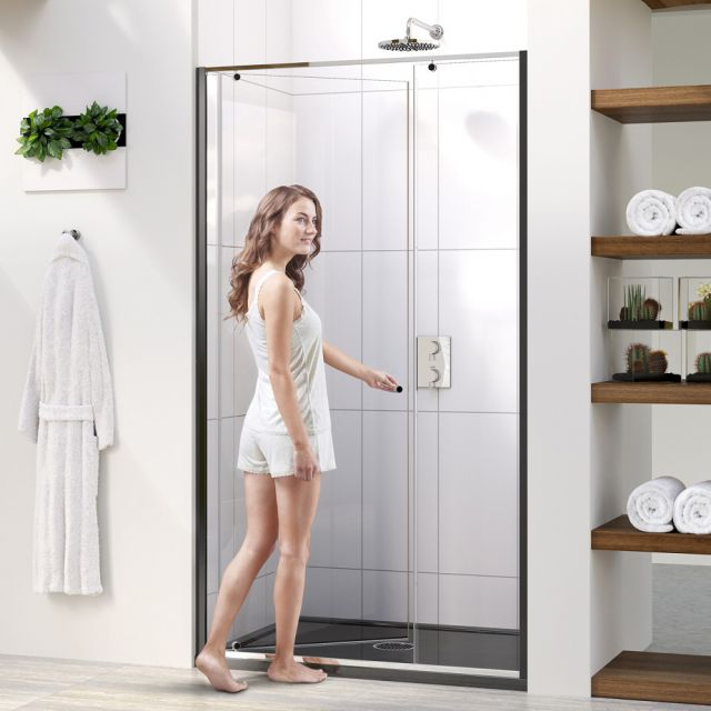 Matki-ONE Pivot Recess Shower Screen