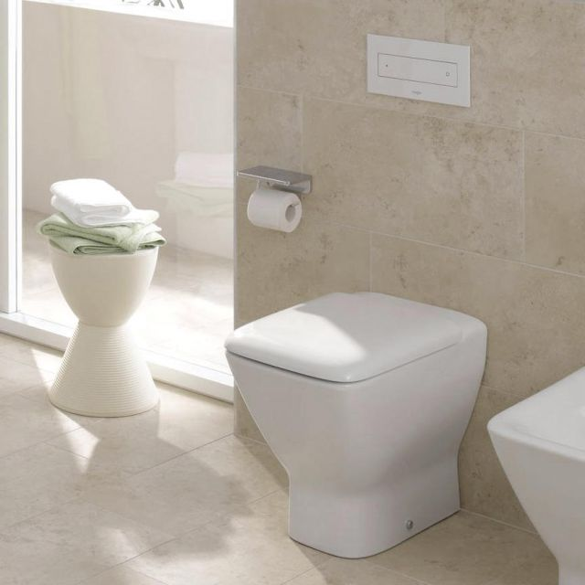 Laufen Palace Back to Wall Toilet - 23701WH