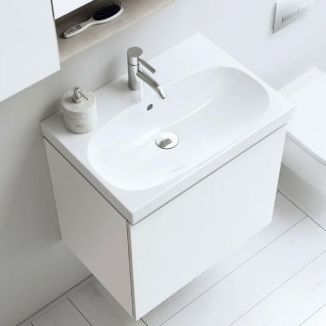Geberit Acanto Small projection Vanity Unit with Basin