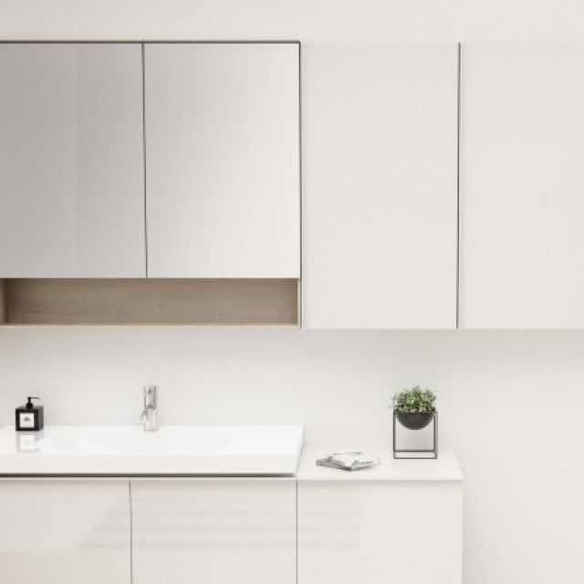 Geberit Acanto 45cm High-level Cabinet