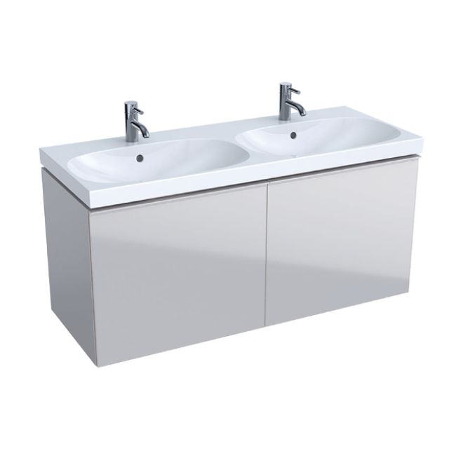 Geberit Acanto 120cm Vanity Unit with Two Drawers