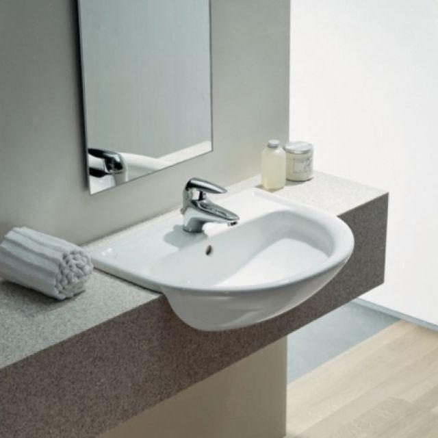 Laufen PRO B semi recessed basin 56 x 44cm