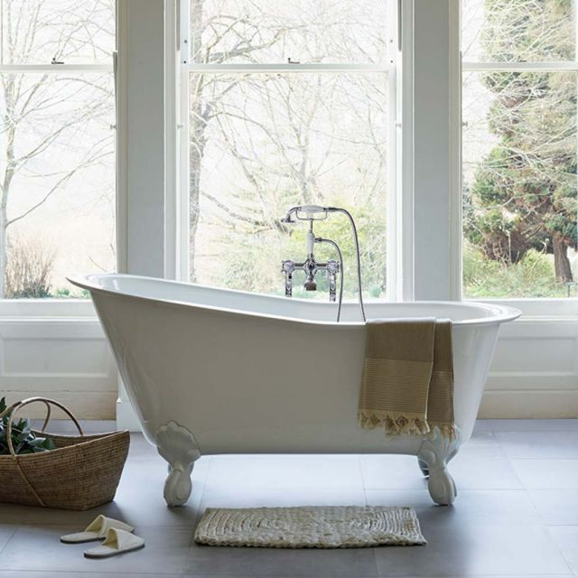 Clearwater Romano Grande Natural Stone Bath