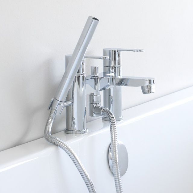 Britton Crystal Bath Shower Mixer