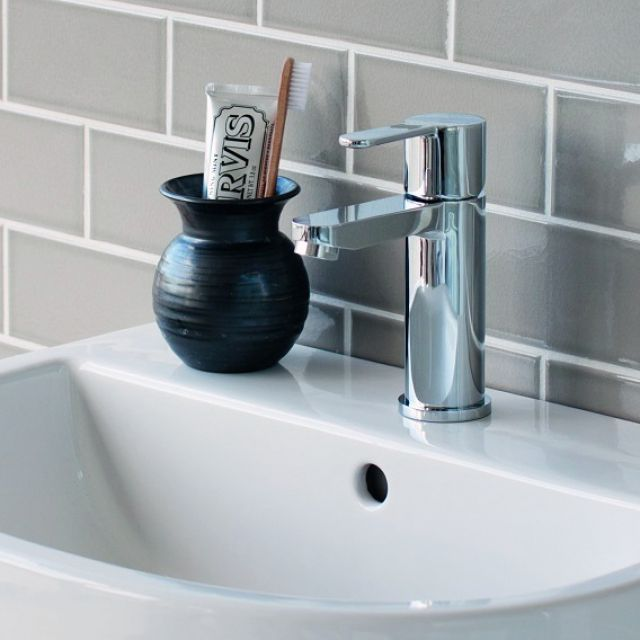 Britton Crystal Mini Basin Mixer Tap