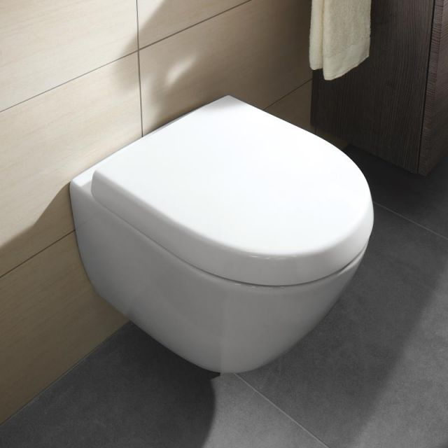 Villeroy And Boch Soho (Subway) Compact Wall Hung Toilet