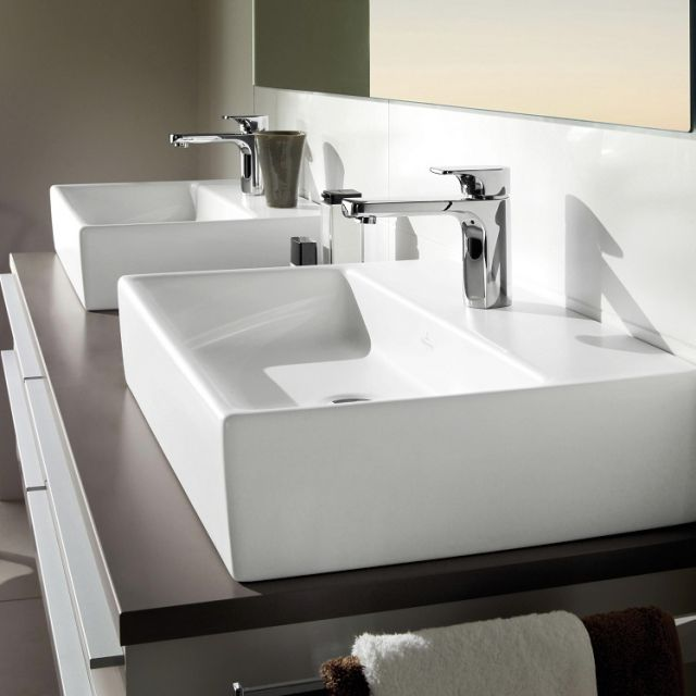 V & B Memento 600mm Surface Mounted Furniture Washbasin