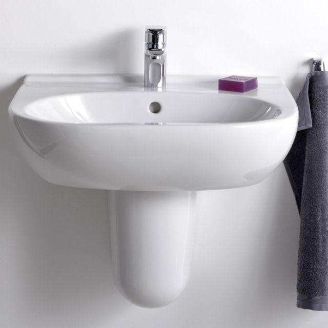 Villeroy & Boch O.Novo Short Projection Washbasin