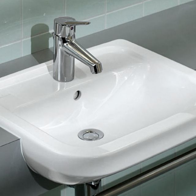 villeroy boch omnia architectura semi recessed washbasin uk bathrooms. Black Bedroom Furniture Sets. Home Design Ideas