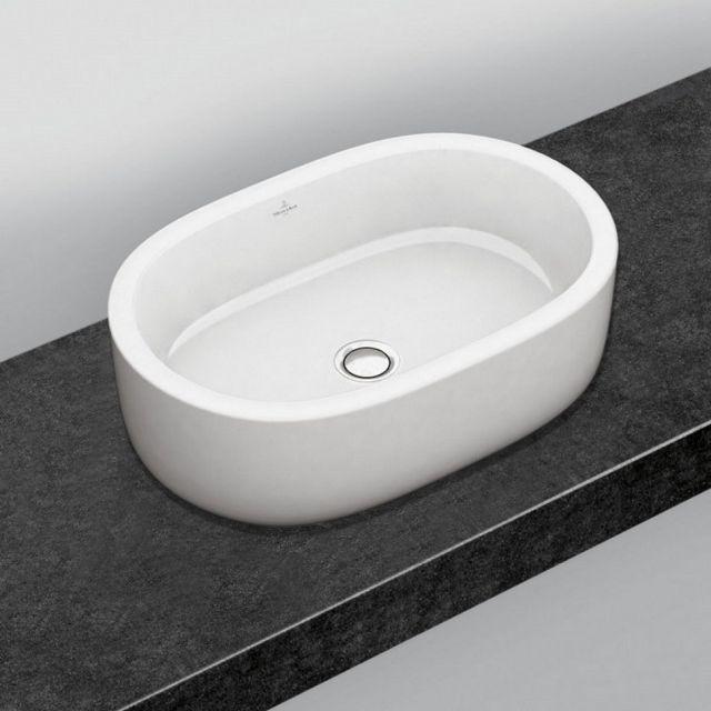 v b architectura stadium surface mounted washbasin uk bathrooms. Black Bedroom Furniture Sets. Home Design Ideas