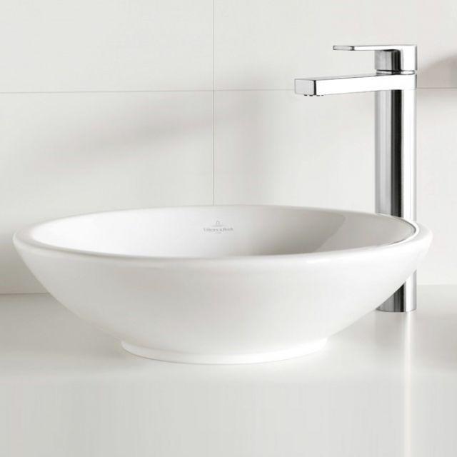 V&B Loop & Friends Circular Surface Mounted Washbasin