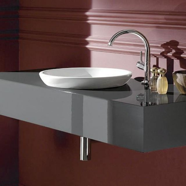 V&B Loop & Friends Circular Semi-Surface Mounted Washbasin